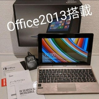 ASUS - 【美品】Office2013搭載☆ASUS 2in1モバイルPC