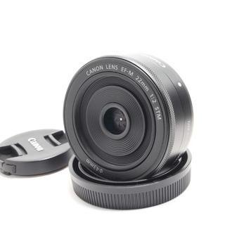 Canon - キャノンミラーレス一眼単焦点レンズ☆Canon EF-M 22mm STM