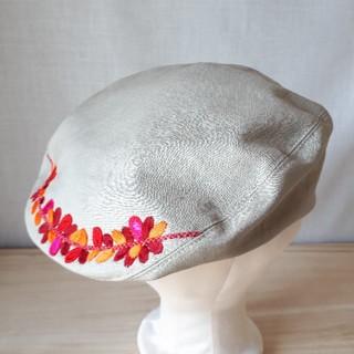 アナスイ(ANNA SUI)の刺繍入りハンチング(ハンチング/ベレー帽)