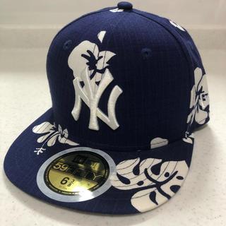 NEW ERA - 【新品未使用】ハイビスカス柄5950  ニューエラ NEWERA kids帽子