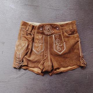 アメリヴィンテージ(Ameri VINTAGE)のVintage 90's Suède short pants(ショートパンツ)