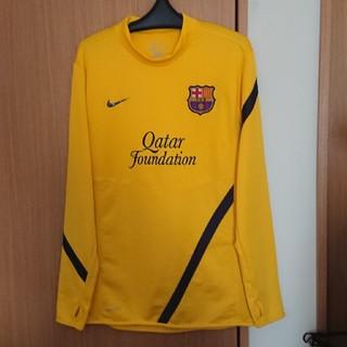 NIKE - ナイキ FCバルセロナ サッカー ユニフォーム 黄色 size L