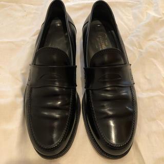 ジャコメッティ(Giacometti)のジャコメッティ 黒ローファー 41 26.0(ドレス/ビジネス)