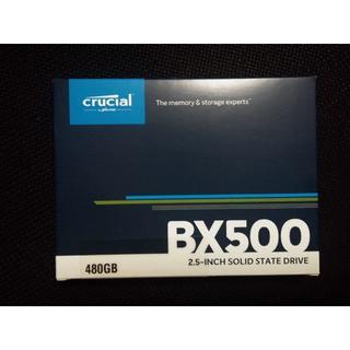 【新品・未開封】Crucial SSD BX500 480GB
