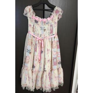 アンジェリックプリティー(Angelic Pretty)のAngelic pretty Girly Roomジャンパースカート セット(ひざ丈ワンピース)