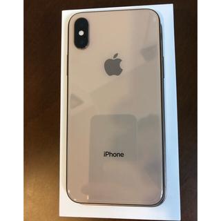 iPhone - iPhoneXs ゴールド SIMフリー 超美品
