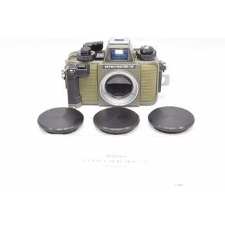ニコン(Nikon)の極良品 ニコン Nikon Nikonos V ニコノスV グリーン(フィルムカメラ)