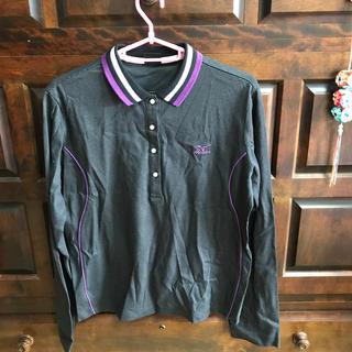 ミズノ(MIZUNO)の未使用品、ミズノゴルフシャツ、レディース用(Tシャツ(長袖/七分))