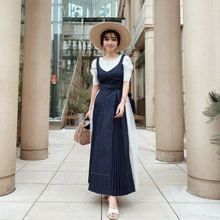 eimy istoire - 新品 eimy istoire  Charme Denim Dress ドレス