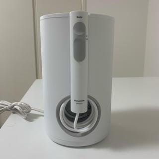 パナソニック(Panasonic)のPanasonic口腔洗浄機 ジェットウォッシャー ドルツ ew-dj71-w(歯ブラシ/デンタルフロス)