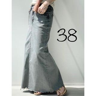 L'Appartement DEUXIEME CLASSE - 新品*アパルトモン GOOD GRIEF DENIM LONG スカート