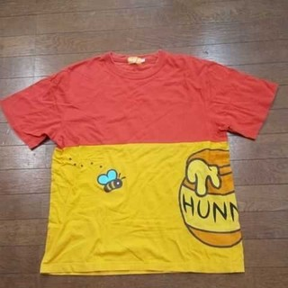 Disney - ディズニーTシャツ プーさんバウンド ユニセックス