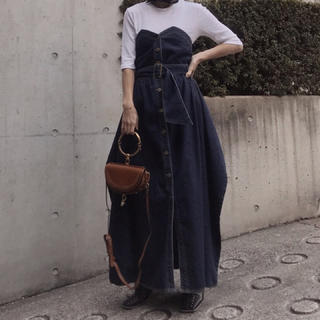 Ameri VINTAGE - Ameri Vintage*DENIM UNIFY DRESS