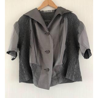 イッセイミヤケ(ISSEY MIYAKE)のイッセイミヤケ 半袖 ジャケット(テーラードジャケット)