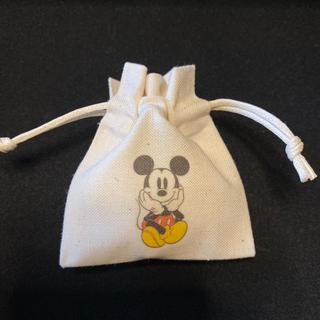 ディズニー(Disney)のミッキーマウス ミニ巾着☆ ハンドメイド(ポーチ)
