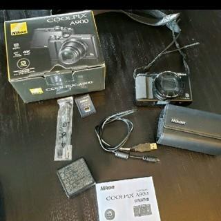 COOLPIX Nikon A900 ケース付き