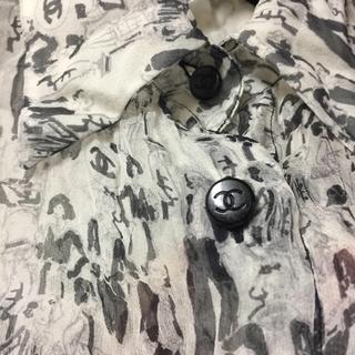 CHANEL - 【今週限定出品】正規品 CHANEL シャネル シルク シャツ ブラウス 総柄