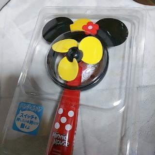 ディズニー(Disney)のミニーちゃんハンディファン扇風機(扇風機)