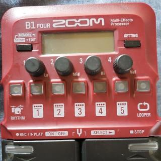 ズーム(Zoom)のZOOM B1four ベース用マルチエフェクター(ベースエフェクター)