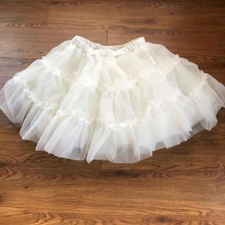 Angelic Pretty - ロリータ ふんわり 真っ白な パニエ スカート 丈45cm