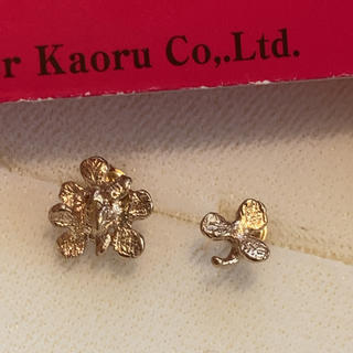 KAORU - KAORU K10 クローバーピアス