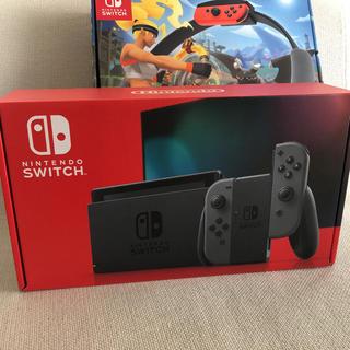 Nintendo Switch - 任天堂switchとリングフィットアドベンチャーセット