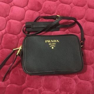 PRADA - PRADA ショルダーバッグ ブラック