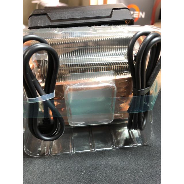 AMD Ryzen 純正 Wraith Prism CPUクーラー スマホ/家電/カメラのPC/タブレット(PCパーツ)の商品写真
