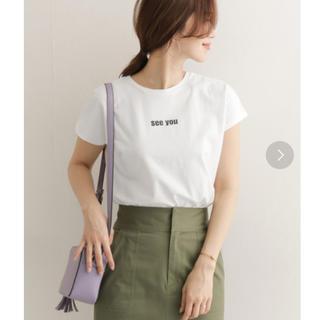 アーバンリサーチ(URBAN RESEARCH)のアーバンリサーチ フレンチスリーブ ポイント ロゴ Tシャツ(Tシャツ(半袖/袖なし))