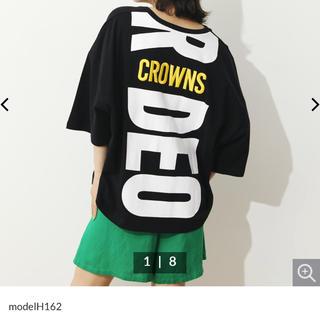 RODEO CROWNS WIDE BOWL - ロデオクラウンズ   ネオン3D刺繍Tシャツ