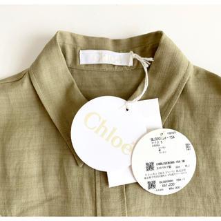 セリーヌ(celine)のクロエ シャツ未使用 定価67200円(シャツ/ブラウス(半袖/袖なし))