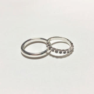 4℃ - twin angie pair new moon ring* ペアリング