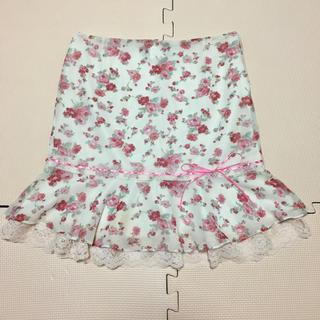 CECIL McBEE - 花柄 スカート