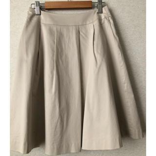 エフデ(ef-de)のエフデ ベージュ 膝丈スカート (ひざ丈スカート)