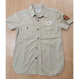 PHERROW'S - フェローズの綿100%半袖ジャケットお色はベージュ