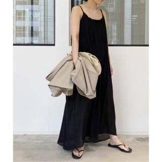 L'Appartement DEUXIEME CLASSE - L'Appartement 【AISH/アイシュ】Cami Dress◆ブラック