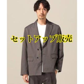 ジエダ(Jieda)のjieda 20ss T/C ジャケット&ベスト チャコールグレー サイズ2(セットアップ)