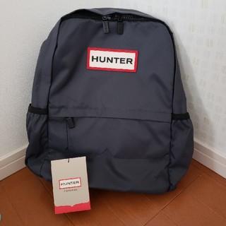 ハンター(HUNTER)の【最安値】ハンター リュック ネイビー タグ付(リュック/バックパック)