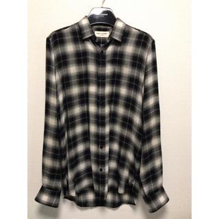 Saint Laurent - saint laurent 15aw check shirt
