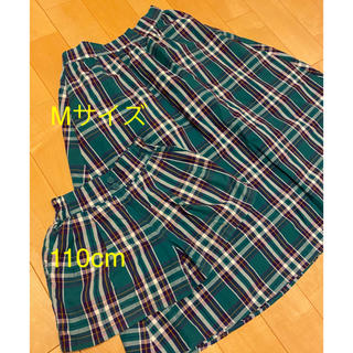 GU - 親子おそろい 親子コーデ リンクコーデ GU スカート M パンツ 110cm