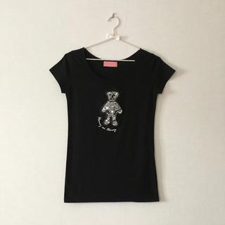 ハニーミーハニー(Honey mi Honey)のHoney mi Honey ラインストーンTシャツ(Tシャツ(半袖/袖なし))