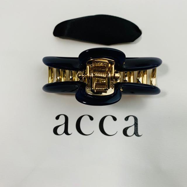 acca(アッカ)のレア新品未使用! acca アッカ 中(M)サイズ クリップ レディースのヘアアクセサリー(バレッタ/ヘアクリップ)の商品写真
