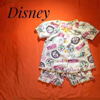 Disney - 【ディズニー♡】アロハシャツ風 ミニー柄パジャマ 夏