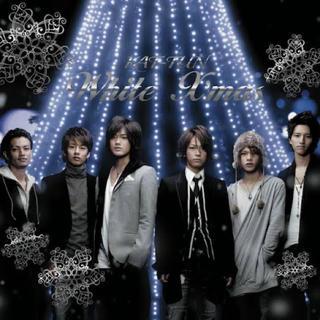 カトゥーン(KAT-TUN)のKAT-TUN White X'mas 初回限定盤(アイドルグッズ)