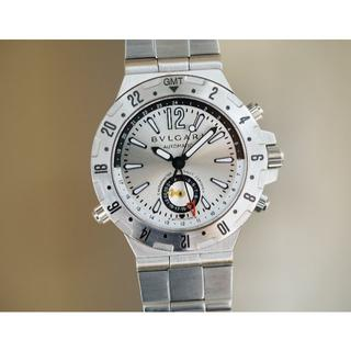 ブルガリ(BVLGARI)の美品 ブルガリ ディアゴノ プロフェッショナル GMT メンズ Bvlgari (腕時計(アナログ))