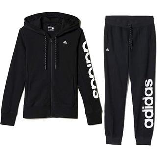 adidas - 新品 アディダス スウェットパーカー×ロングパンツ レディース M ブラック