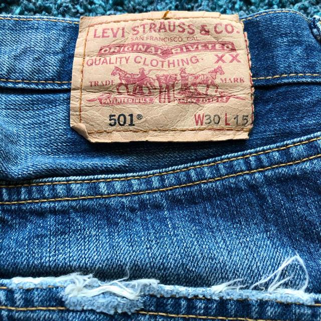 Levi's(リーバイス)のリーバイス501  ハーフパンツ メンズのパンツ(デニム/ジーンズ)の商品写真