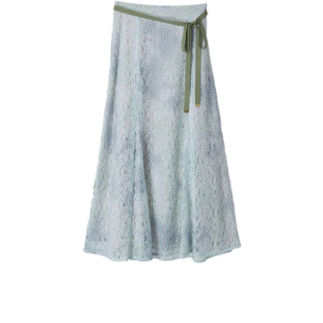 31 Sons de mode(トランテアンソンドゥモード)のトランテアンソンドゥモード タイダイレーススカート レディースのスカート(ひざ丈スカート)の商品写真