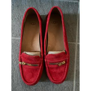 アグ(UGG)のUGG ローファー 24.5cm(ローファー/革靴)
