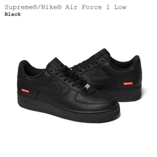 Supreme - Supreme air force1 black 黒